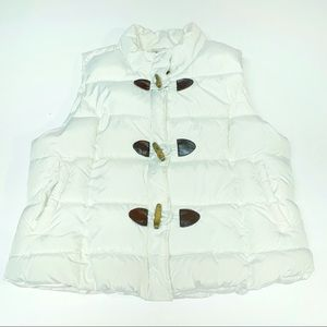 Arizona White Quilted Puffer Vest